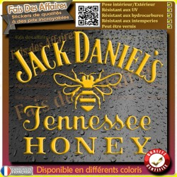 sticker autocollant  Jack Daniel's honey