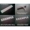 lot de 3 stickers Jack daniel's pour reservoir et casque