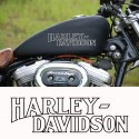 sticker autocollant  harley davidson ref02