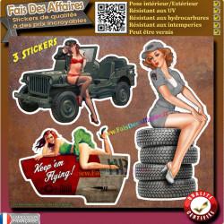 5 stickers autocollant ducati perofomance