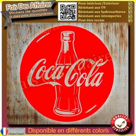 sticker autocollant coca cola decal coca-cola