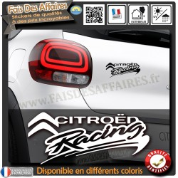 sticker autocollant Citroën Racing