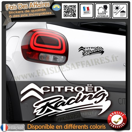 sticker-autocollant-citroen-racing