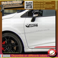 stickers autocollant Renault racing
