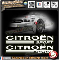 6 Stickers Autocollant Pirelli sponsor rallye tuning