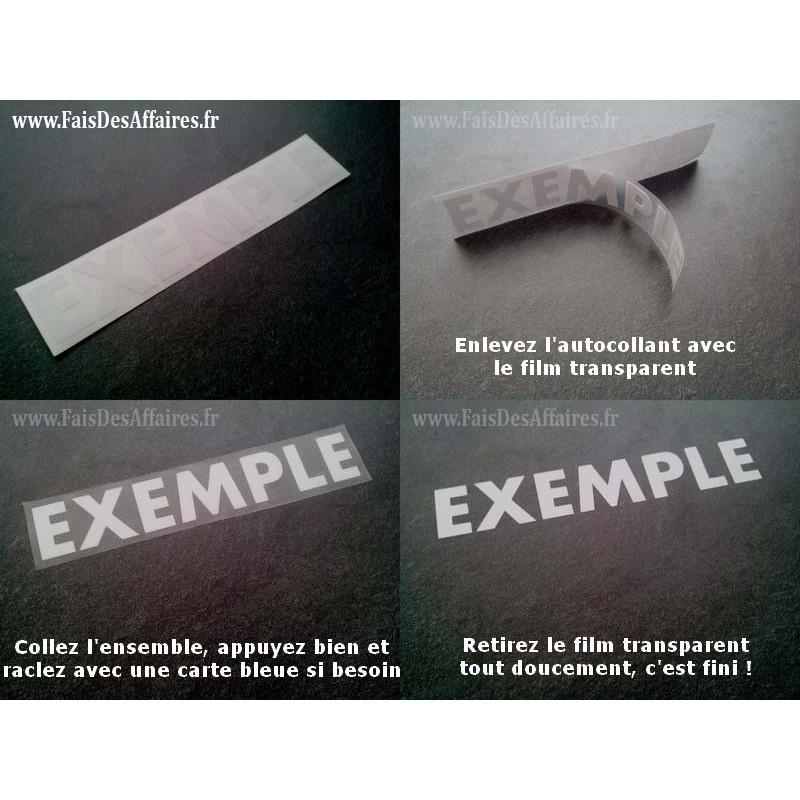 4 Stickers Autocollant Remus sponsor rallye tuning