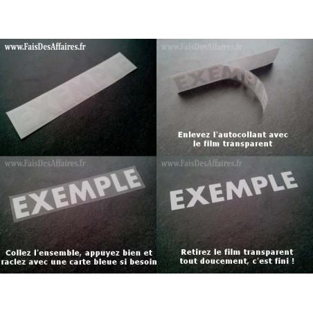 2 Stickers Autocollant Pioneer sponsor