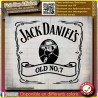 stickers autocollant Jack daniel's Tennessee whiskey