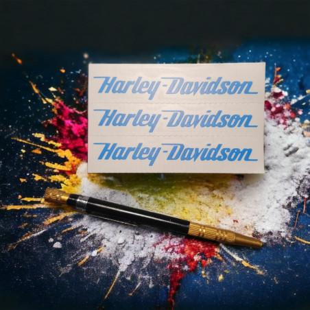 2 stickers autocollant old school bobber motorcycle custom choper