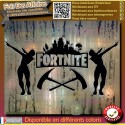 Sticker Autocollant fortnite jeu game